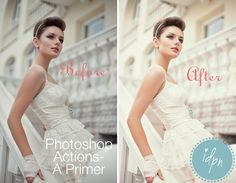 """*Just a guide, but I love the look of this action, will try to """"re-create"""" this look* Photoshop Action Tutorial"""