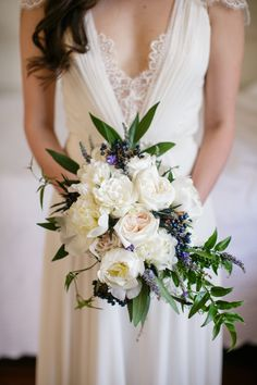 What a gorgeous wedding! The nuptials took place at Race and Religious, a popular New Orleans wedding venue. Rehearsal Dinner Inspiration, Outdoor Wedding Inspiration, Wedding Ideas, Wedding Decorations, White Wedding Bouquets, Flower Bouquet Wedding, Botanical Wedding, Floral Wedding, Lavender Bouquet