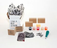 DIY kit: make your own stamps
