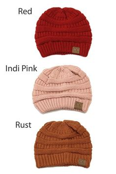 81605c2175c Knit Beanies - 16 Colors