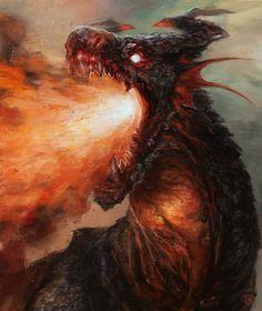 dragon head, Tsad De Lira on ArtStation at https://www.artstation.com/artwork/dragon-head-07b64d58-7d46-4a45-8f19-803a017e9aab