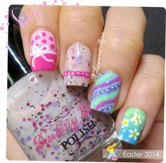 Easter Nail Art - #easter #nailart #nails #nailpolish #easterplish #easternails #alacqueredaffair - bellashoot.com