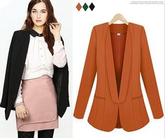 Spring summer autumn ladies fashion slim long sleeved by PriJeBox, $38.99