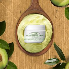 Our planet gives us so many ingredients that help us keep your skin looking its best, like nourishing, hydrating avocados. Avocado Face Mask, Eye Treatment, Kiehls, Avocado Oil, Vitamin C, Beauty Hacks, Beauty Tips, Skin Care Tips, Your Skin