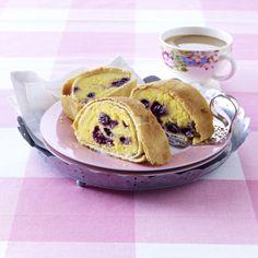 Blueberry, Pancakes, Berries, Pudding, Breakfast, Food, Polenta Recipes, Kuchen, Pies