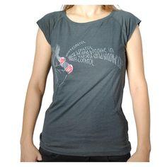 """T-Shirt """"losing control"""" (women)"""
