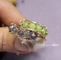 Looking for jewelry project inspiration? Check out Ring with a Clasp! by member Bobbi Maw.