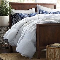 Lacrosse Comforter and Sham @ http://www.thecompanystore.com