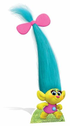 Smidge is a character from Trolls. Smidge is a tiny Troll with a shockingly deep baritone voice. Trolls Birthday Party, Troll Party, 3rd Birthday, Birthday Parties, Birthday Banners, Los Trolls, Princesa Poppy, Troll Costume, Themed Birthday Parties