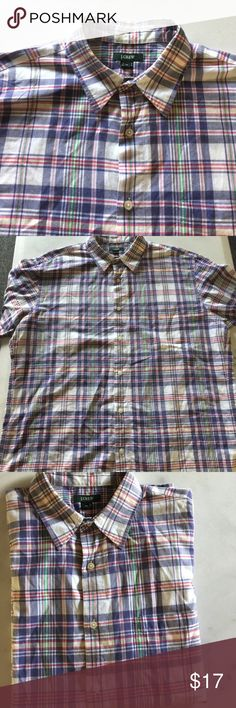 J. Crew man top last DROP 100%cotton no holes no stain no trade half price offers will not be accepted J. Crew Shirts Casual Button Down Shirts