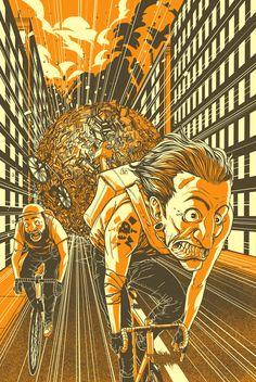 Bike Week Poster on Behance - Adam Rosenlund