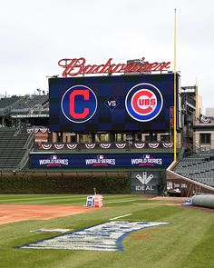 Scenes inside of Wrigley Field prior to game three of the 2016 World Series between the Cleveland Indians and the Chicago Cubs in Chicago IL