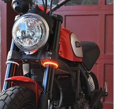 New Rage Cycles LED Fork Mounted Turn Signals for Ducati Scrambler Ducati Scrambler, Scrambler Motorcycle, Motorcycle Style, Bobber, Scrambler Icon, Motorcycle Girls, Motorcycle Garage, Yamaha, Enfield Bike