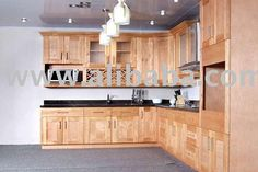 Honey Maple Kitchen Cabinets-similar to my cabinets