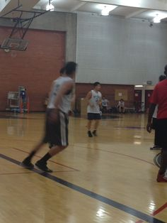 Minuteman basketball team... in action! #teambonding #employees #coworkers
