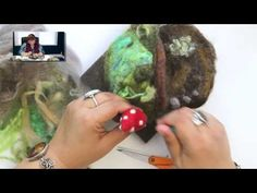 DIY: How to Create a Needle Felted Gnome Home - YouTube