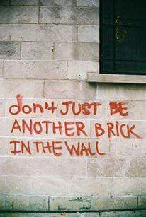 ... another brick ...