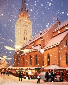 Villach, Carinthia / Kärnten, Austria #villach #austria #travel #letitsnow #winter #christmas #advent, http://smart-travel.hr