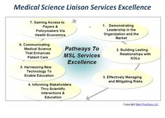 Respondents have shown that there are seven key focus areas where MSLs can be highly effective. http://www.best-in-class.com/bestp/domrep.nsf/products/medical-science-liaison-services-insights-for-evolving-msl-roles-responsibilities!opendocument