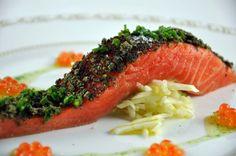 Ocean Trout Confit recipe