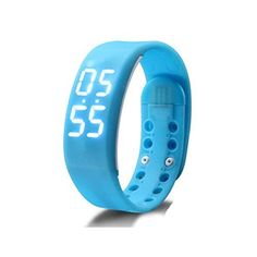 iParis Kids Wireless Activity Plus Sleep Tracker calories Tracker Activity Tracker Fitness Band SKY BLUE *** Want additional info? Click on the image.