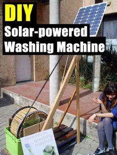 Solar-powered DIY Washing Machine - SHTF Preparedness