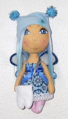 Zoubková víla / Tooth Fairy Tooth Fairy, Teeth, Handmade, Hand Made, Tooth, Craft, Dental