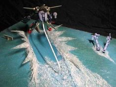 Tutorial on how to make awesome water diorama for your gundam or model kit.