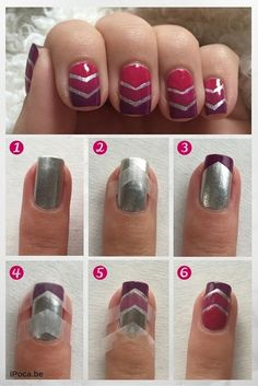 Easy Tutorial Step By Step Pretty Nail Art Design Using Opi