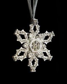 Orange HOWELL - Sugar Loaf Snowflake #Christmas #Ornament #neimanmarcus #holiday2013