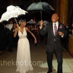 New Orleans style: the couple led guests in the second line dance to honor the bride's hometown. Second Line, New Orleans Travel, New Orleans Wedding, Bridesmaid Dresses, Wedding Dresses, Fun Ideas, Wedding Pictures, Getting Married, Real Weddings