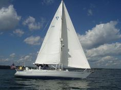 1988 Tayana 52/54 C/C Three Cabin Layout Sail Boat For Sale -