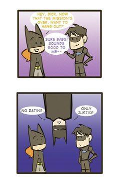 Mission Comes First--Batman