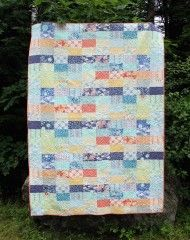 Ebb and Flow quilt - 40 fat eights make a twin size quilt