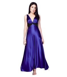 Glamour Gown, Reminiscent of Hollywood starlets, pure silk charmeuse   Christine Lingerie