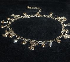 Check out this item in my Etsy shop https://www.etsy.com/listing/177456892/silver-angel-silver-crystal-ankletankle