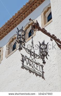 stock photo : Maricel Palace at Sitges on southern Barcelona in Catalonia Province, Spain