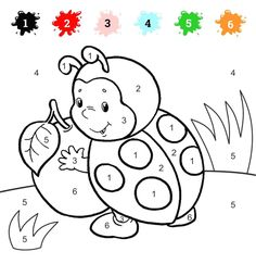 Coloring by Numbers for Children