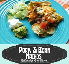 "I added ""Pork & Bean Nachos ~ Bottom Left of the Mitten"" to an #inlinkz linkup!http://bottomleftofthemitten.com/recipe/pork-bean-nachos/"