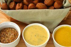 Rosemary Thyme Mustard, Seeded Agave Nectar Mustard, Nectar Ballpark Beer Mustard