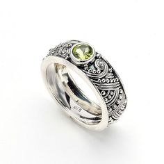 Everything from Emeralds to Peridot: Out-of-the-Ordinary Engagement Rings: PERIDOT FROM SAMUEL B. . . .