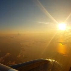 Sunrise flight leaving Key West and heading for home. Going to miss the view! #partingissuchsweetsorrow