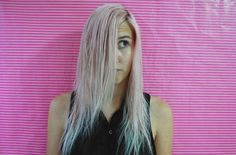 Please excuse my faded hair colour. I'm fading it out to try a new  pink method, which I'll be sharing soon if it works!
