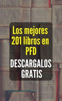 140 Ideas De Libros Para Descargar En Pdf En 2021 Libros Libros Para Leer Libros Interesantes