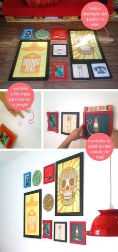 inspiracao do dia parede galeria