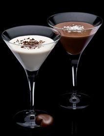 1 part DISARONNO      1 part Dark or White crème de cacao      ½ part (soy creamer?) Cream