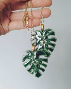 Author # green # ceramic # ceramics # clay # handmadejewelry # handmade # monstera # monstera # decorations # stylish # fashionable # authoring # a Porcelain Jewelry, Ceramic Jewelry, Clay Jewelry, Ceramic Necklace, Fine Porcelain, Ceramic Pendant, Ceramic Clay, Ceramic Pottery, Pottery Vase