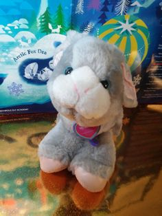Tuggles Vintage 1996 Cap Toys Plush Toy Grey Bunny Rabbit Stuffed Walking Pup #tuggles #captoys #plush #bunny #plushie #vintageplush Grey Bunny, Misfit Toys, Bunny Plush, Bunny Rabbit, Plushies, Pup, Walking, Teddy Bear, Animals