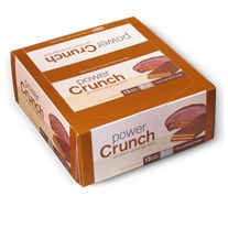 Tastes like a peanut butter cup, but has the crunch of a cookie.  Um.  Yum.
