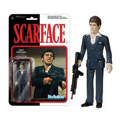 Scarface Tony Montana ReAction Action Figure